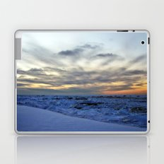 Icy Sea at Sunset Laptop & iPad Skin