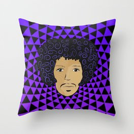 Far Gone Soul Brother Throw Pillow