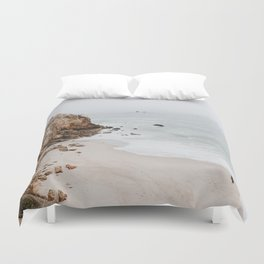 malibu coast / california Duvet Cover