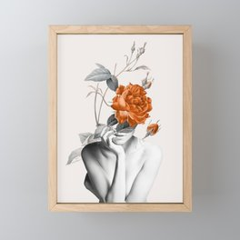 Rose 3 Framed Mini Art Print