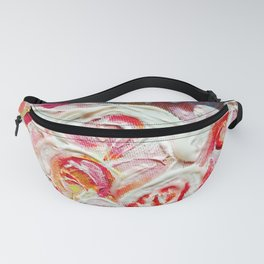 Roses on Fire Fanny Pack