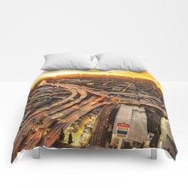 los angeles junction Comforters