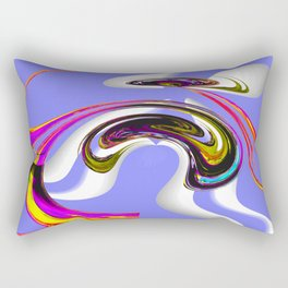 eccentric topology Rectangular Pillow