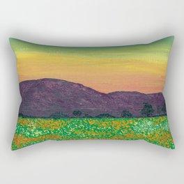 Temecula, California Spring Field of Poppies Rectangular Pillow