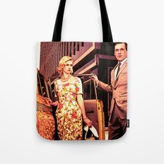 Betty & Don Draper from Mad Men - Painting Style Tote Bag