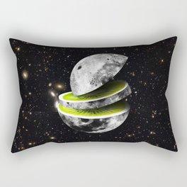 Kiwi Moon Rectangular Pillow