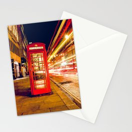 London Phone Box Stationery Cards
