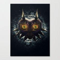 Epic Pure Evil of Majora's Mask Canvas Print