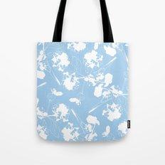 Hydranga pattern  - blue and white Tote Bag