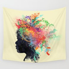 Wildchild (aged ver) Wall Tapestry