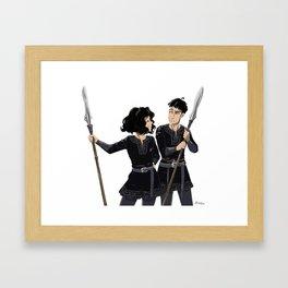 I'm better than you ! Framed Art Print