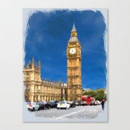 Parliament Building Canvas Print