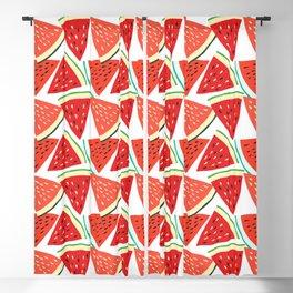 Sliced Watermelon Blackout Curtain