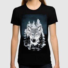 Forest Wolf Art T-shirt