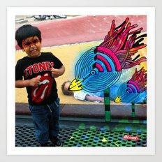 Tito Pájaro Art Print