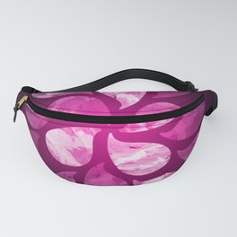 Abstract Water Drops X Fanny Pack