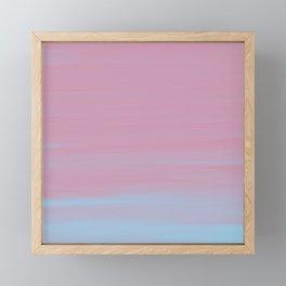 Bubblegum Acrylic II Framed Mini Art Print