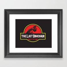 The Last Dinosaur Framed Art Print