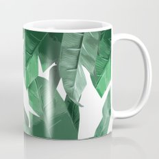 Tropical Palm Print Mug