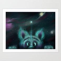 The Universe Creature Art Print