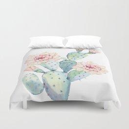 The Prettiest Cactus Duvet Cover