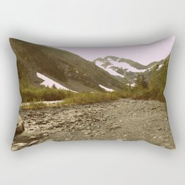 To the Mountains we go | Photography Rectangular Pillow