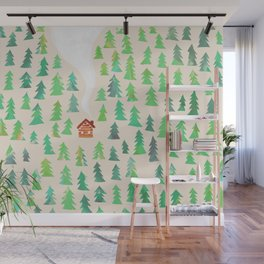 Alone in the woods Wall Mural
