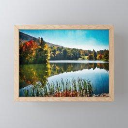 Nature's Mirror Framed Mini Art Print