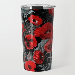 Poppy Garden Travel Mug