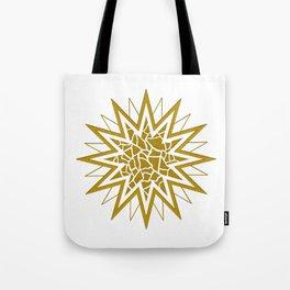 Star (gold) Tote Bag