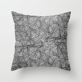 Pattern psychedelia Throw Pillow