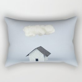 A cloud over the house Rectangular Pillow