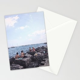 Summer at Lake Michigan, Chicago Stationery Cards