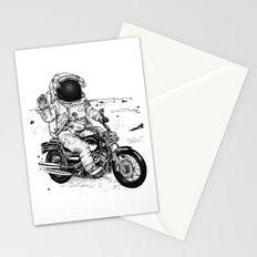 Moon Biker Stationery Cards