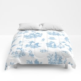 Toile du Force Comforters