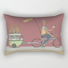 Keeping Coffee Organic Rectangular Pillow