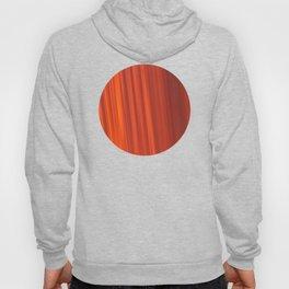Red & Orange Sunset Stripes Hoody