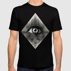 Misty Witness 2X-LARGE Black Mens Fitted Tee