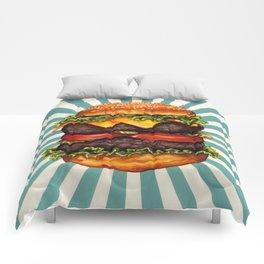 Cheeseburger - Double Comforters