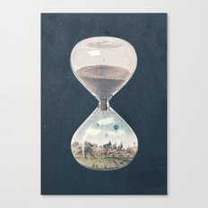 There's A City Where Time Stopped Long Ago Canvas Print