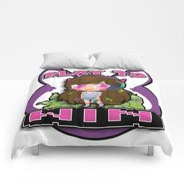 Gremlin D.Va ALWAYS WINS Comforters