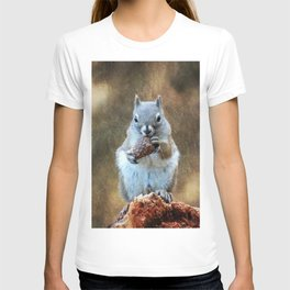 Squirrel with a Pine Cone T-shirt