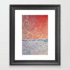 Pink or Blue Framed Art Print