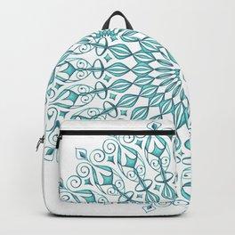 Aqua mandala Backpack