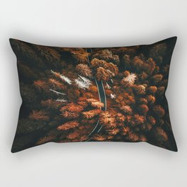 red forest in north america Rectangular Pillow