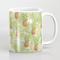 Tropical Pineapple Pattern Mug