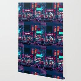 Cyberpunk Tokyo Street Wallpaper