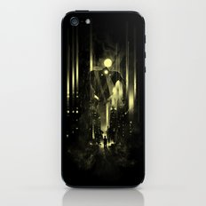 Giant robot and the kid iPhone & iPod Skin