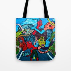 People and Generations  Tote Bag