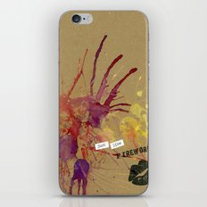 Beth's Valentine iPhone & iPod Skin